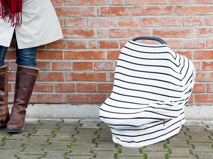 Zoznámte sa: Multifunkčná šatka na dojčenie